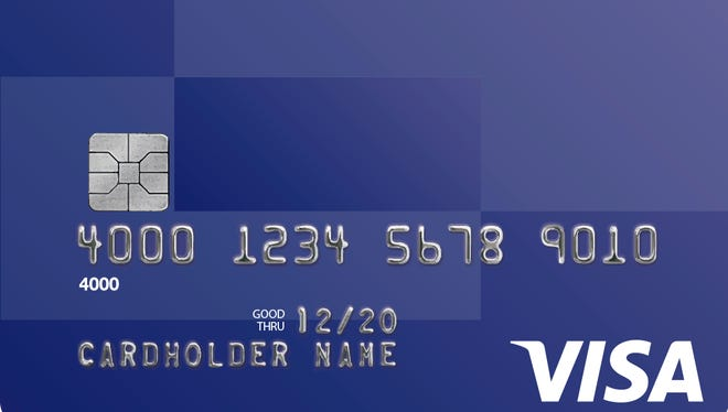 """A credit card with a computer chip in it, called a """"chip card"""" or a """"chip and PIN card."""" The card generates a unique identifier for each purchase, making it difficult to counterfeit. The United States is transitioning to this type of credit card."""