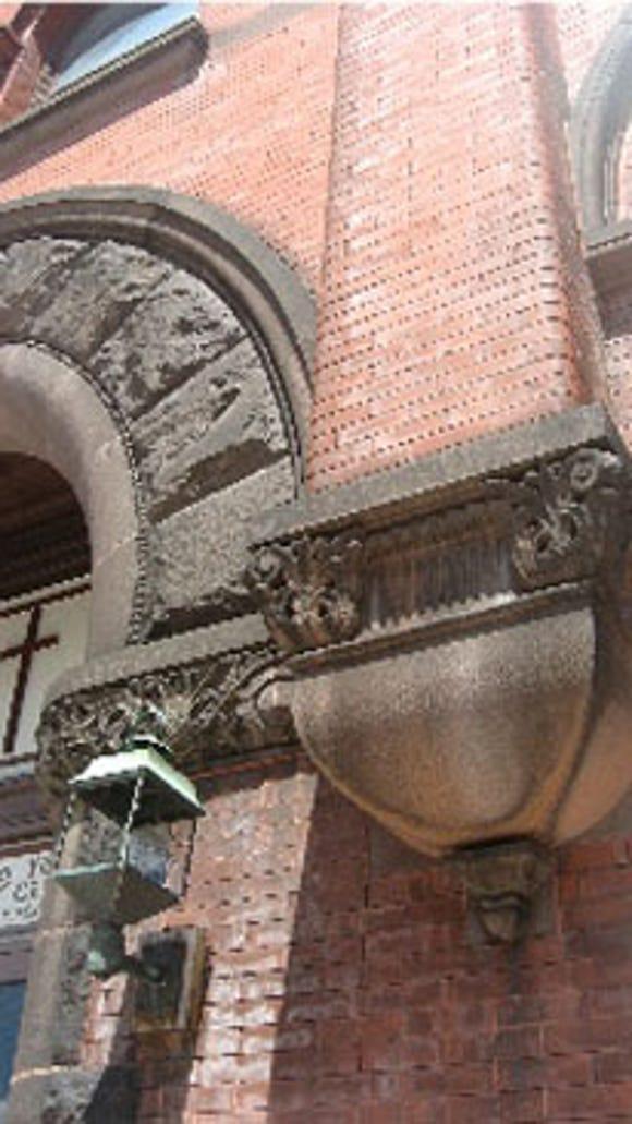 Philadelphia Street entrance detail