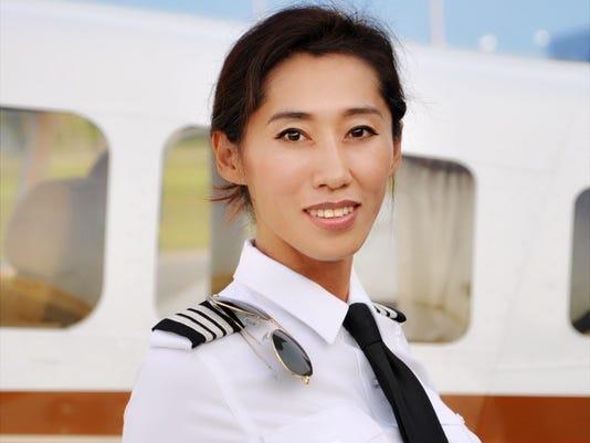 Pilot Julie Wang