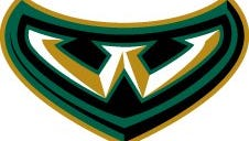 one of three Wayne State University Warriors logos