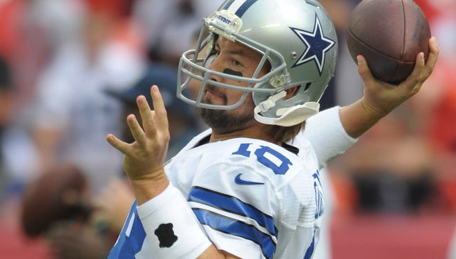 QB Kyle Orton was a member of the Cowboys for the past two seasons.