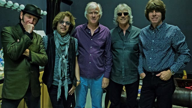 The current version of the Yardbirds, including founding drummer Jim McCarty, who spoke with azcentral.