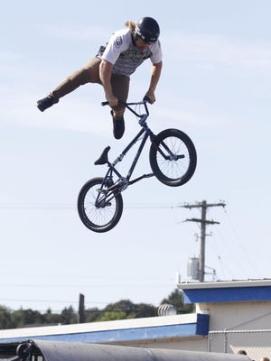 Watch BMX Freestyle at 2, 4 and 6 p.m daily plus at noon on Saturday at the Polk County Fair.