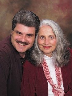 Longtime Nashville Christian radio personality Doug Griffin and his mother, Michelle Griffin, nine years before she killed herself July 25, 2016, in her Franklin home.
