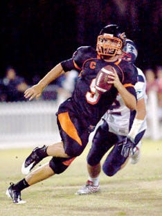 Blake Bortles, seen here during his time as the quarterback for the Oviedo Lions, has been appearing in the pages of the Seminole Chronicle since 2007.