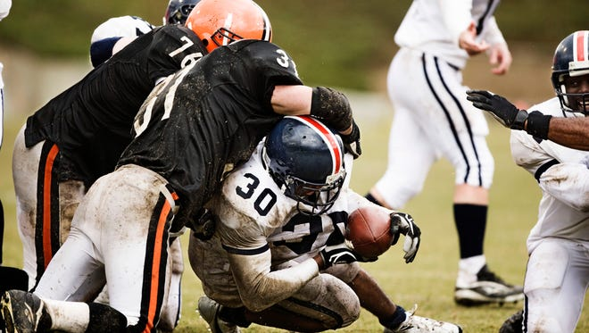 Football players at all levels can be at risk to sustain concussions.