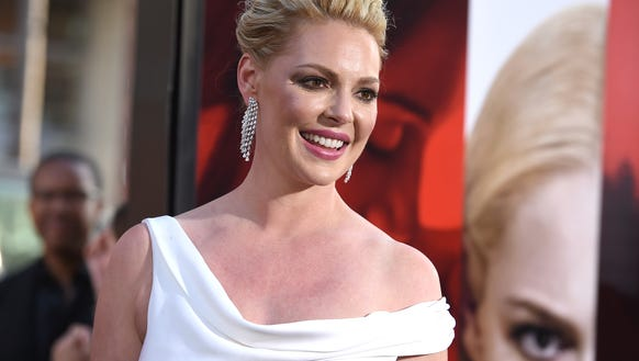 Katherine Heigl arrives at the Los Angeles premiere