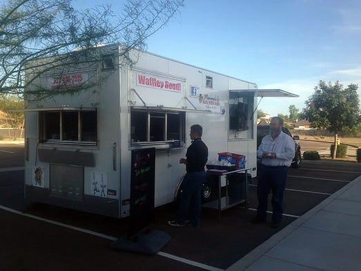 Cheese E Wagon Food Truck Phoenix