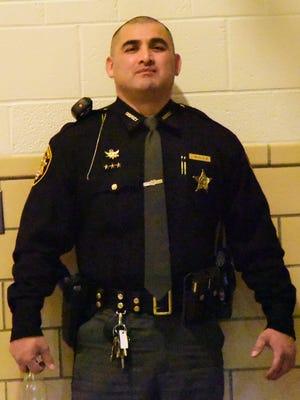 Sandusky County Sheriff's Deputy Jose Calvillo.