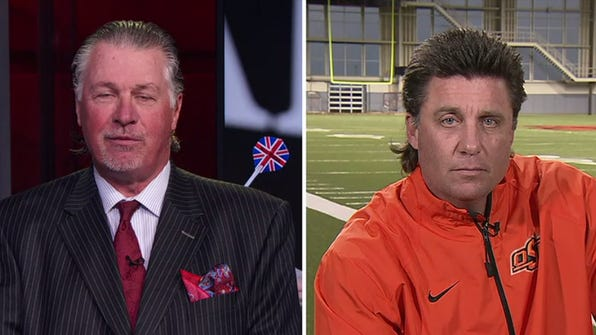 Mike Gundy and Barry Melrose spoke about their mullets