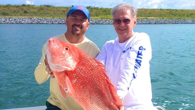 Red snapper, like this one caught during a past special season, will be on the agenda when the South Atlantic Fishery Management Council holds a scoping meeting in Cocoa Beach on Jan. 24 starting at 6 p.m. at the Cocoa Beach Hilton.