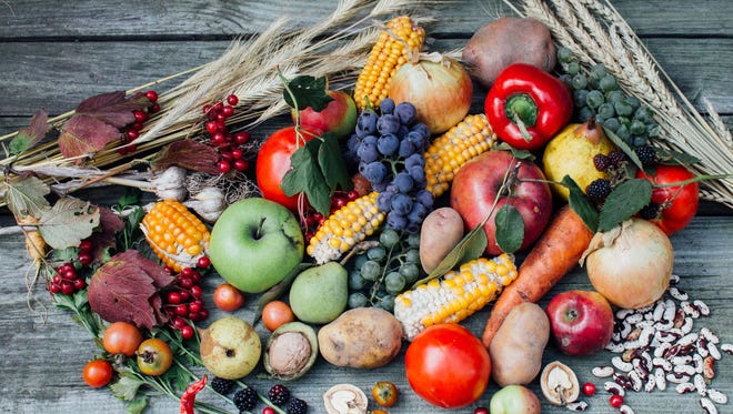 Colorful fall produce is packed with vitamins, antioxidants and important nutrients.