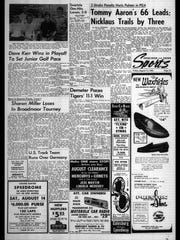 This week in BC Sports History - week of Aug. 13, 1965
