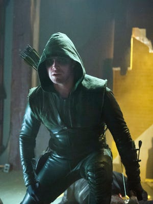 Stephen Amell in 'Arrow,' one of CW's most popular series.