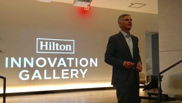 Hilton CEO Christopher Nassetta introduces the company's