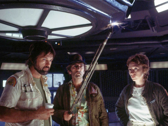 4. Tom Skerritt, Harry Dean Stanton, and Veronica Cartwright