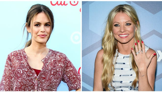 Rachel Bilson, left, and Kaitlin Doubleday, right, are joining the cast of CMT's 'Nashville'