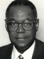 Former Flint Mayor James Sharp, photographed during his time as mayor.