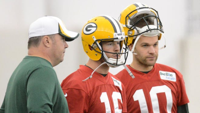 Aaron Rodgers would like to have both of his understudies back for 2015, but that choice ultimately lies with coach Mike McCarthy and general manager Ted Thompson.