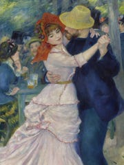 "Pierre-Auguste Renoir's ""Dance at Bougival"" (1883)"