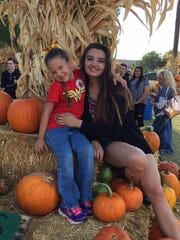 """My pumpkins had a great time at Mother Nature's Farm pumpkin patch in Gilbert."""