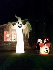 Jay and Ted Humphrey went all out with their spooky