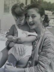 Tasha Ingram (now Erica Courtney) with her mother Helyn Ingram.