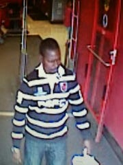Police believe this man used stolen ATM information to make purchases at stores in Cherry Hill and Burlington Township.