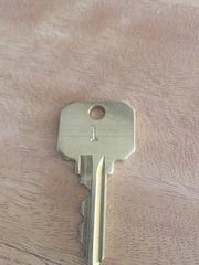 Brian Sauer posted this picture of the key to the building