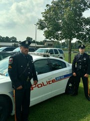 Cpl. Kevin Boone and Patrolman Chris Burans attended the funerals of fallen officers in Baton Rouge this week.