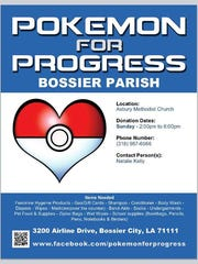 One Bossier Parish drop-off location.