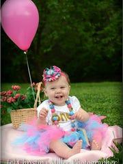 Riley's first birthday.