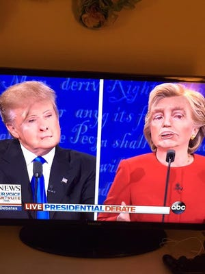Snapchat's face swap filter was the clear winner of the first presidential debate.