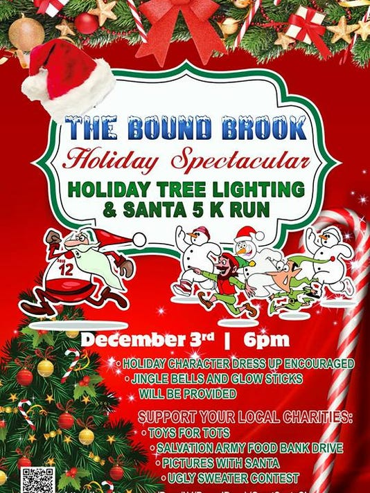 great santa chase added to annual bound brook tree lighting event - Chase Bank Open Christmas Eve