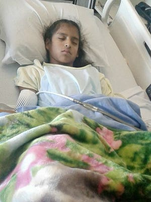 A 10-year-old girl with cerebral palsy who had gall bladder surgery at Driscoll Children's Hospital is under threat of deportation after crossing a Customs and Border Protection checkpoint to get to Corpus Christi for the surgery.