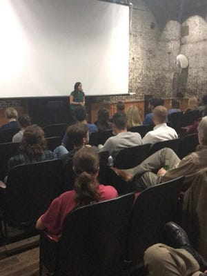 """After showing the documentary, """"Food Chains,"""" panelists responded to issues highlighted in the film."""