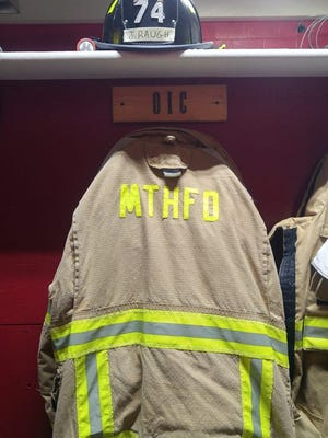 4-year-old James Raugh of South Carolina was an honorary Mount Healthy firefighter on Jan. 11, the day before his funeral.