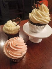 Cupcakes made by Intoxibakes.