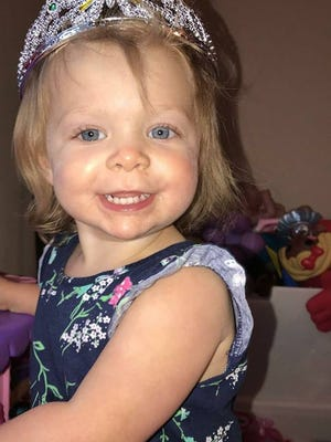 Evie Leonhardt, 2, died after suffering a traumatic brain injury, according to Anderson County Deputy Coroner Don McCown.