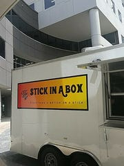 Be on the lookout for the tasty food from the Stick
