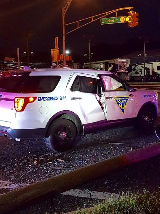 Washington Township Police Crash Sergeant Michael Ferris