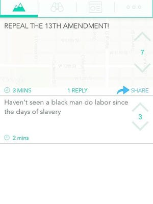 Concerns have been raised at the University of Northern Iowa over racist Yik Yak posts.