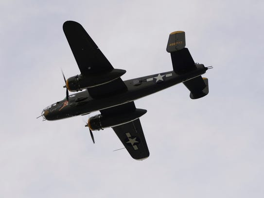 Genoa's sesquicentennial celebration included a flyover