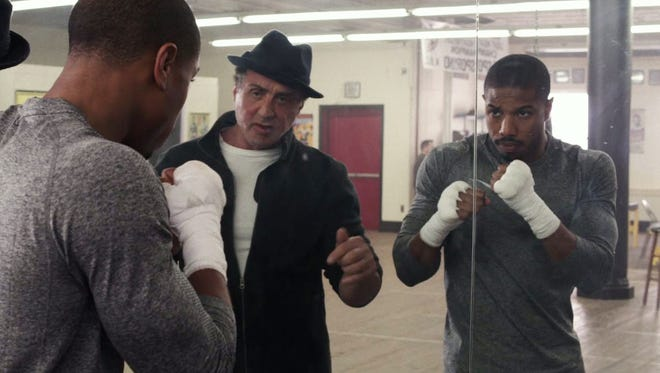 "Michael B. Jordan and Sylvester Stallone deliver solid performances in ""Creed."""
