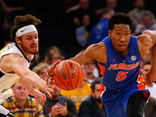 NCAA Basketball: Jimmy V Classic -West Virginia at Florida