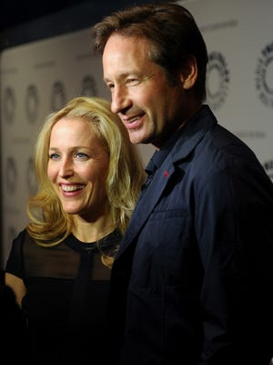 "Gillian Anderson and David Duchovny will be back on Fox with more episodes of  ""The X-Files."""
