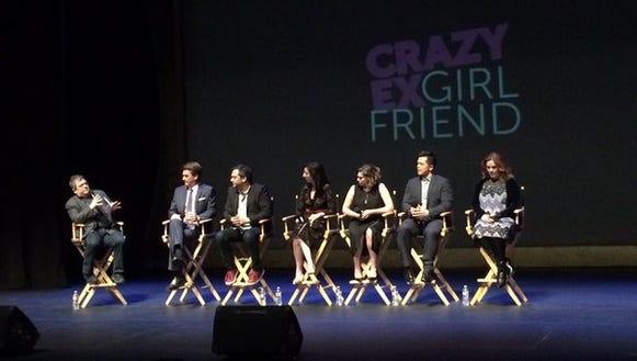Patton Oswalt moderated a 'Crazy Ex-Girlfriend' panel