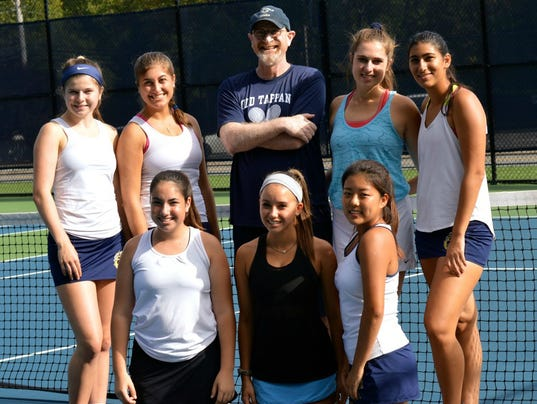 NV/Old Tappan girls tennis