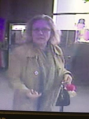 Riverdale police had been seeking the public's help in identifying the women pictured here. Police say she took a wallet after a 15-year-old dropped it on the floor at Walmart. She has since returned the wallet, police said.