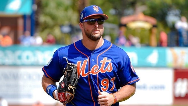 Tim Tebow is 0-for-7 in two spring starts.